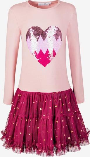 happy girls Haljina u zlatna / ljubičasto crvena / roza, Pregled proizvoda