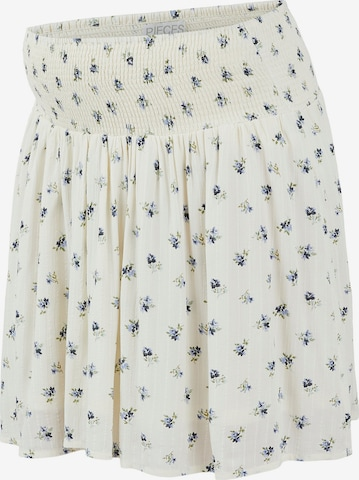 Pieces Maternity Skirt 'Thea' in White