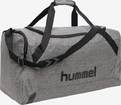 Hummel Sports Bag in mottled grey / Black, Item view