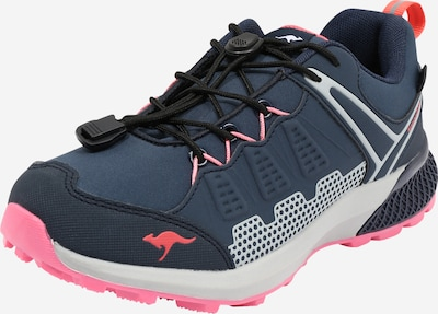 KangaROOS Sneaker 'K-Surve' in navy / hellgrau / koralle / altrosa, Produktansicht