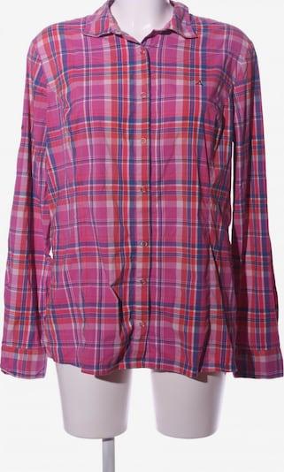Schöffel Langarmhemd in XXL in blau / pink / weiß, Produktansicht