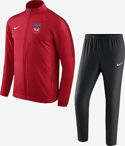 FC Heidenheim Trainingsanzug in rot / schwarz, Produktansicht
