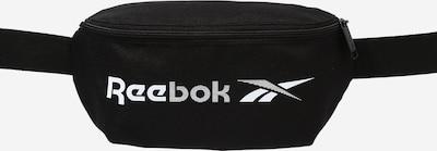 REEBOK Sportgürteltasche in schwarz / weiß, Produktansicht
