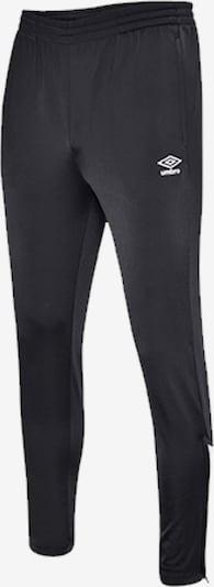 UMBRO Hose in schwarz, Produktansicht