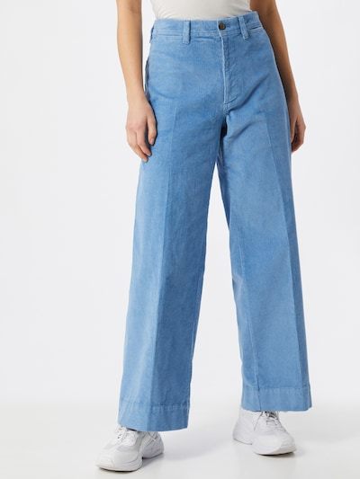 GAP Pantalon in de kleur Lichtblauw, Modelweergave