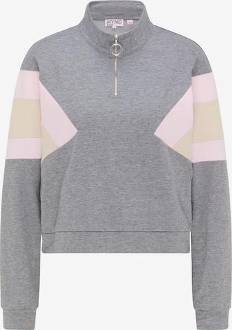 myMo ATHLSR Athletic Sweatshirt in Grey