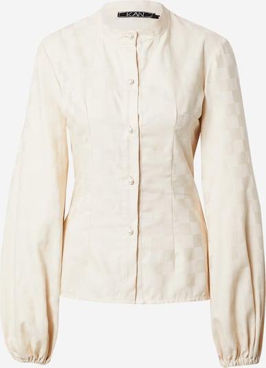 KAN Bluse in creme, Produktansicht