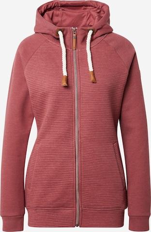 Bluză cu fermoar sport 'GRACYE' de la PROTEST pe roz