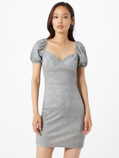 GLAMOROUS Kleid in silber, Modelansicht