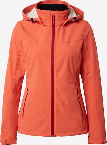 oranžinė ICEPEAK Laisvalaikio striukė 'BRENHAM'