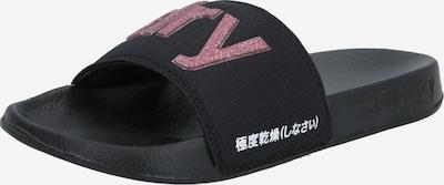 Sandalai / maudymosi batai iš Superdry , spalva - rožinė / juoda, Prekių apžvalga