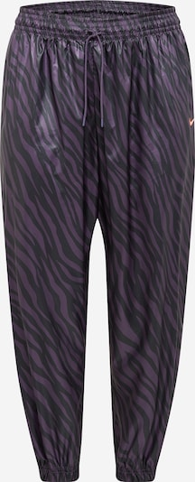 Nike Sportswear Hose in lila / schwarz, Produktansicht