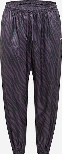 Pantaloni Nike Sportswear pe mov / negru, Vizualizare produs