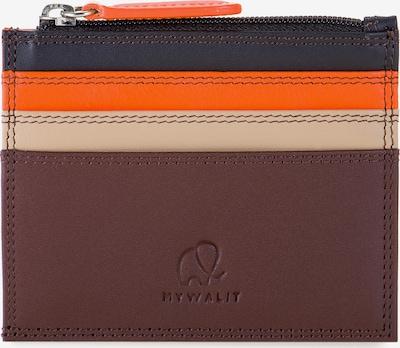 mywalit Kreditkartenetui Leder 8 cm in braun, Produktansicht