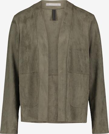 Betty & Co Casual-Jacke mit Taschen in Grün