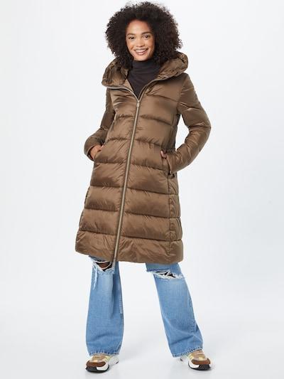 Žieminis paltas iš SAVE THE DUCK, spalva – ruda, Modelio vaizdas