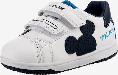GEOX Sneaker in schwarz / weiß, Produktansicht