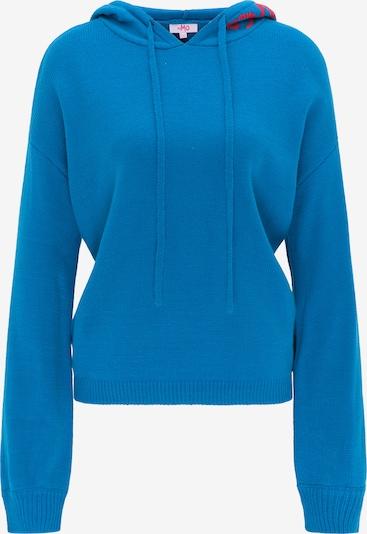 MYMO Pull-over oversize en bleu / rose, Vue avec produit