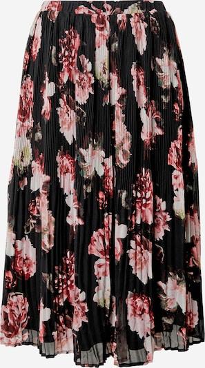 VILA Jupe en rose clair / noir / blanc, Vue avec produit