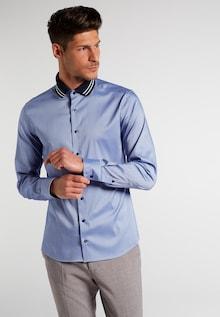 ETERNA Camicia blu