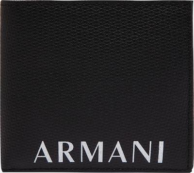 ARMANI EXCHANGE Peňaženka - čierna / biela, Produkt