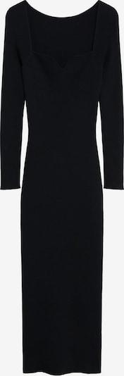 MANGO Oprijeta obleka 'Coeur' | črna barva, Prikaz izdelka