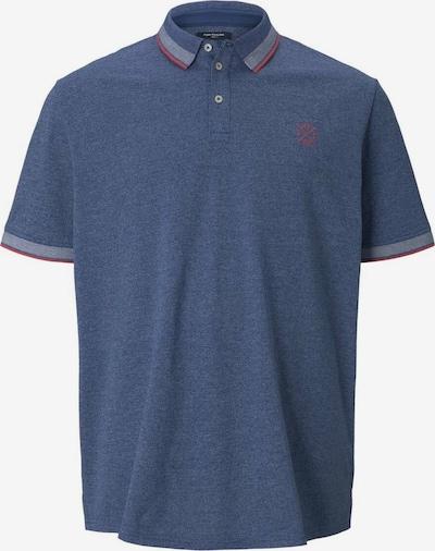 TOM TAILOR Men + Shirt in blau / rot, Produktansicht