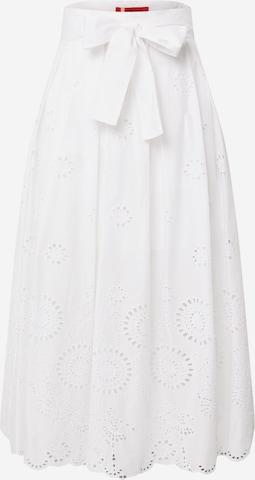 MAX&Co. Spódnica 'BIARRITZ' w kolorze biały