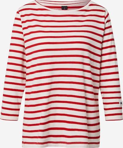 10Days T-shirt en écru / rouge, Vue avec produit