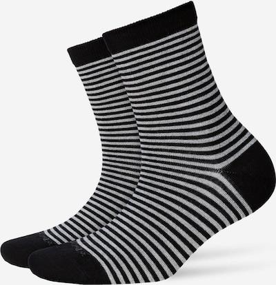 BURLINGTON Sokken in de kleur Zwart / Wit, Productweergave