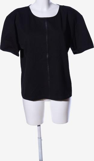 UNQ Kurzarm-Bluse in XL in schwarz, Produktansicht