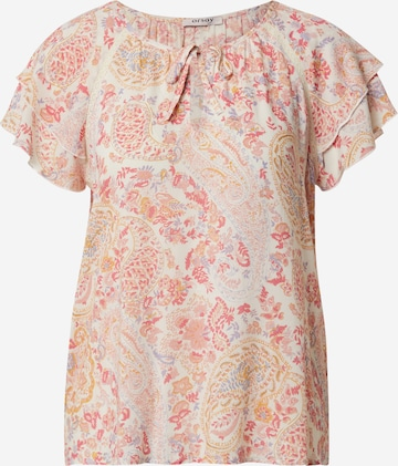 Orsay Bluse in Beige