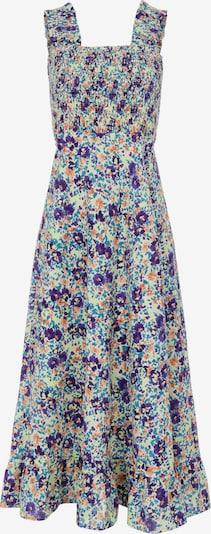 Y.A.S Ljetna haljina 'Monia' u neonsko žuta / tamno ljubičasta / pastelno narančasta / tamno narančasta / bijela, Pregled proizvoda