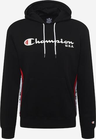 melns Champion Authentic Athletic Apparel Sportisks džemperis