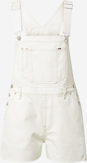 Kombinezonas su petnešomis iš Tommy Jeans, spalva – natūrali balta, Prekių apžvalga