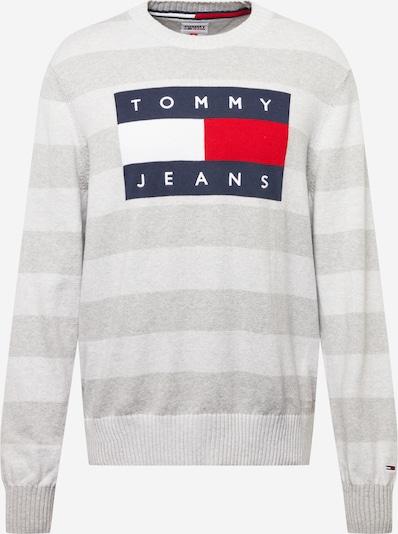 Tommy Jeans Neulepaita värissä yönsininen / vaaleanharmaa / punainen / valkoinen, Tuotenäkymä