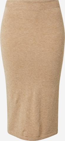 VILA Skjørt 'COMFY' i brun