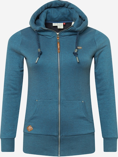 Ragwear Plus Sweatjacke 'NESKA' in dunkelblau, Produktansicht