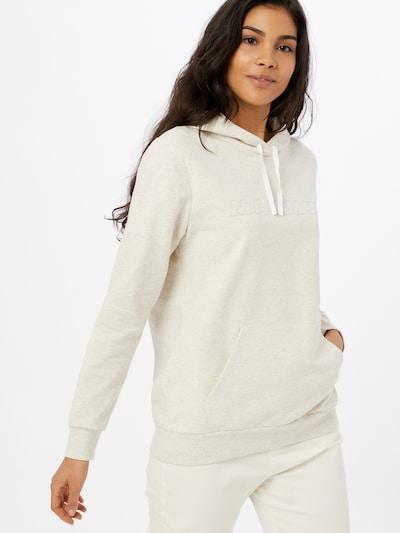 MAMMUT Sportsweatshirt in naturweiß: Frontalansicht