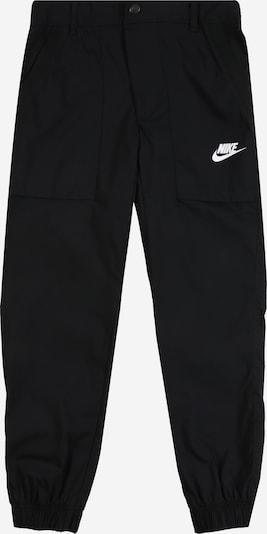 Nike Sportswear Bikses melns / balts, Preces skats
