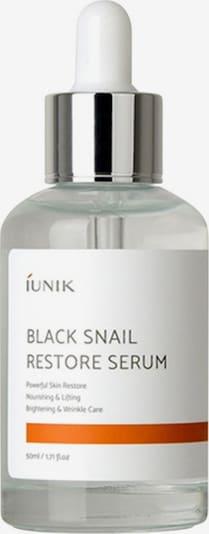 iUnik Serum 'Black Snail Restore' in transparent: Frontalansicht