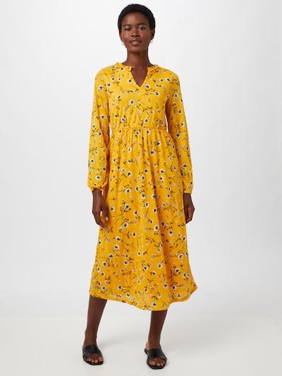 ONLY Kleid 'PELLA' in opal / gelb / tanne / offwhite, Modelansicht