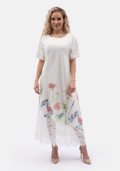 Wisell Sommerkleid in weiß, Modelansicht