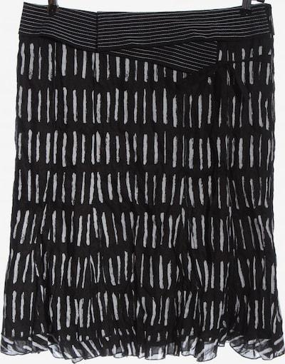 TAIFUN High Waist Rock in XL in schwarz / weiß, Produktansicht