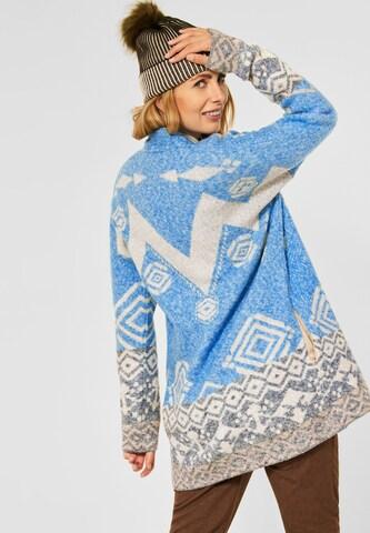 CECIL Knit Cardigan in Blue