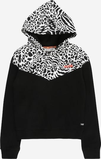 Cars Jeans Sweat-shirt en noir / blanc, Vue avec produit