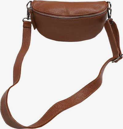 Zwillingsherz Bæltetaske i brun, Produktvisning