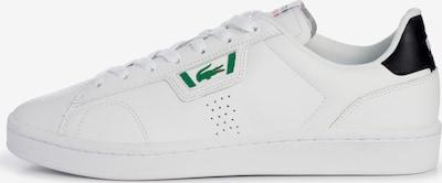 LACOSTE Sneaker in dunkelblau / grün / weiß, Produktansicht