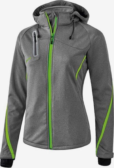 ERIMA Funktionsjacke 'softshell jacket FUNCTION ' in grau, Produktansicht