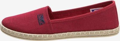Crosby Slipper in rot, Produktansicht